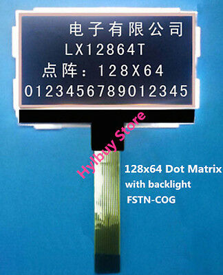 FSTN-COG LCD Module 12864T 128X64 Dots Matrix Graphic SPI Display Screen LCM