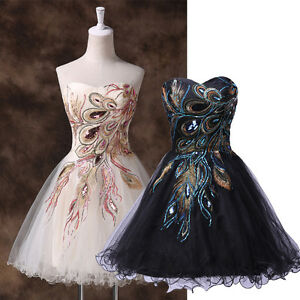 HOMECOMING Short Vintage Retro Evening Prom XMAS Party Masquerade ...
