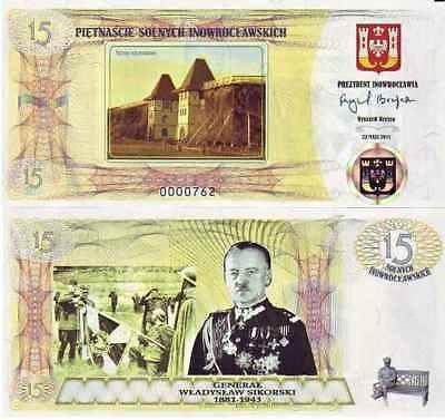 @@@ Poland 15 Nowomiejskich 2011 NOWE BRZESKO Local Bond ONLY 1000 released !!!