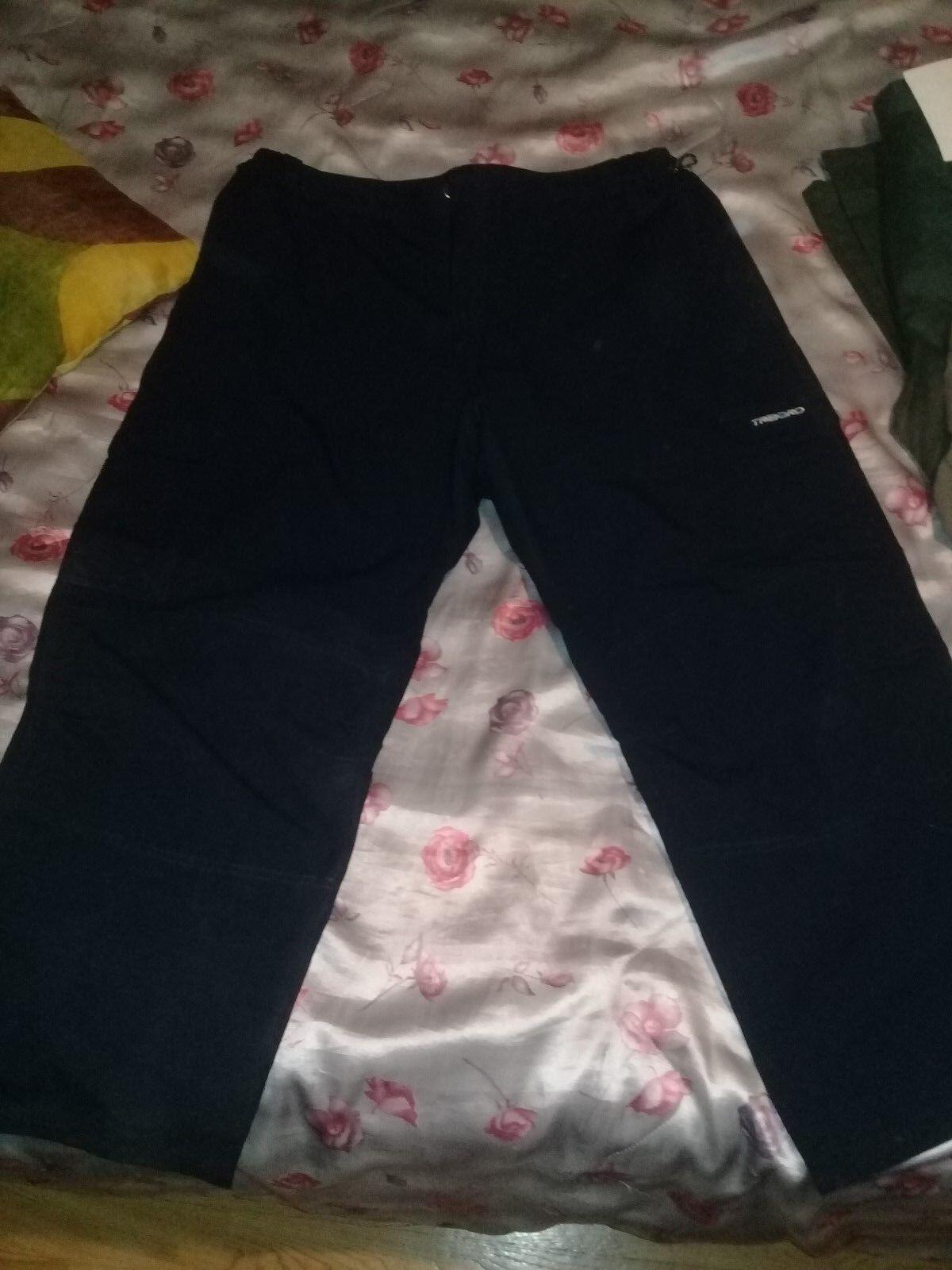 Pantalon TRIBORD DECATHLON blue marine 50% coton 50% polyester size 3XL