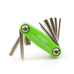 Crops-CP-SSV-M-Bike-Bicycle-Cycling-Folding-Tool-Multi-Tool-Allen-Wrench-Green