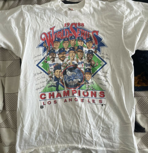 Vintage Salem Sportswear 1988 World Series Champio