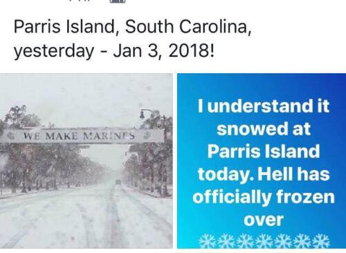 MCRD PARRIS ISLAND RECRUIT SCRIPT HAT PIN US MARINES Boot Camp ...