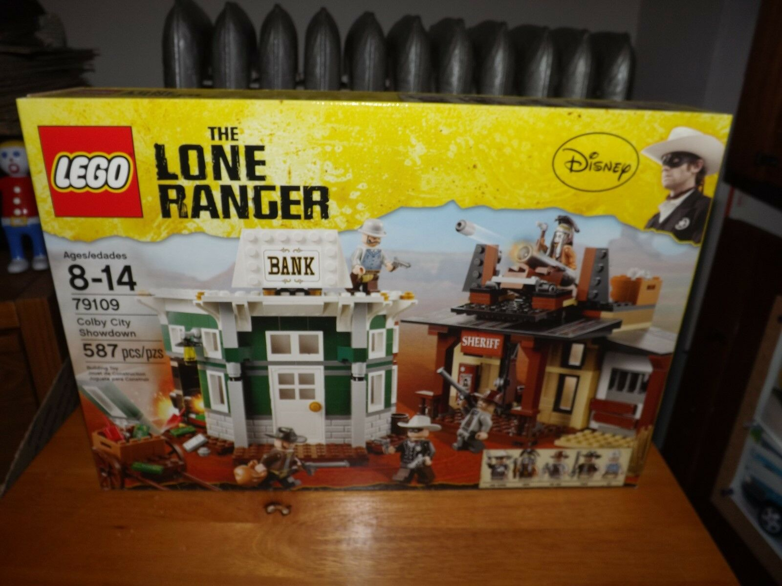 LEGO, THE LONE RANGER, COLBY CITY SHOWDOWN, KIT PIECES, NIB
