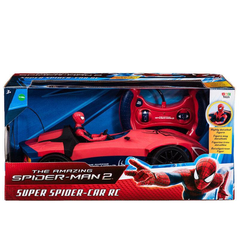 Brand New Kids Spider-Man 2 Super Spider-Car RC