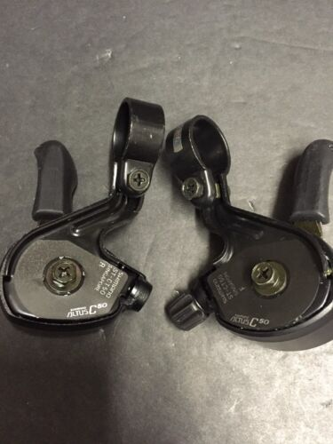 Nos Shimano Altus C50 3x6 Spd Shifters ST-CT50 Nishiki Trek Schwinn Diamondback