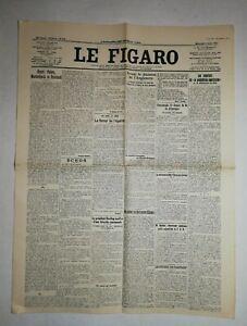 N1047-La-Une-Du-Journal-Le-Figaro-1er-Aout-1923-Henri-Fabre