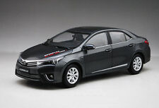 New in Boxed 1:18 Diecast Car Model TOYOTA Corolla 2014 Black