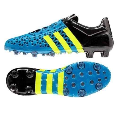 Adidas ACE 15.1 FG AG Bleu solaire et jaune b32859