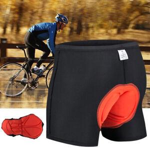 Fahrradhose Herren mit 3D Sitzpolster Gel Radhose Radlerhose Unterhose Polster