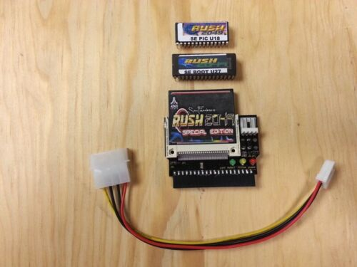 RUSH 2049 SPECIAL EDITION COMPACT FLASH UPGRADE KIT WORKS ON ANY RUSH 2049