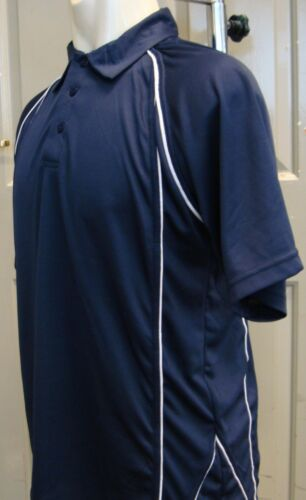 XXL Mens Polo Shirt Wickable Training Running Gym Sports XS