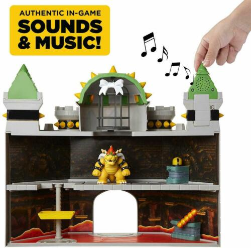 Coleção temática Castelo De Luxo Bowser Super Mario bólidas armadilhas escondidas Boneco De Ação