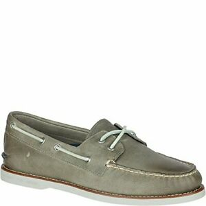 Gold bateau lacets sider Original Chaussure Top Cross Authentic Homme Cup Sperry 10 Gris à de 7YgvIb6yf