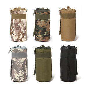 Updated Outdoor Tactical Military Molle System Water Bottle Bag Pouch Holder Bag