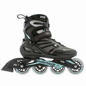 Rollerblade-Zetrablade-W-Womens-Adult-Fitness-Inline-Skate-Size-9-Black-Blue