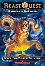 Beast Quest #19: Amulet of Avantia: Nixa the Death Bringer-ExLibrary