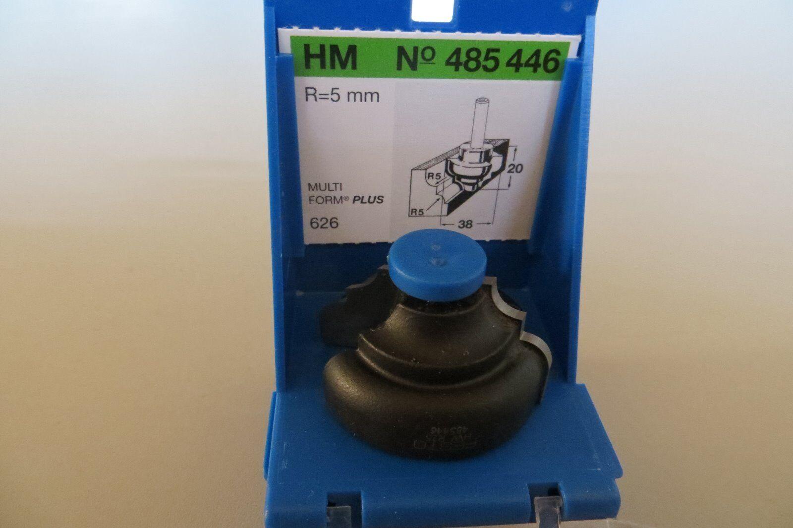 HM Profil-Fräser R 5+5 MFP  Festo  MULTI FORM Plus Nr. 485446