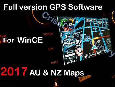 igo9 GPS SAT SW + 2017 Q2 AUSTRALIA and NZ maps for WINCE on MicroSD/TF Card 8GB