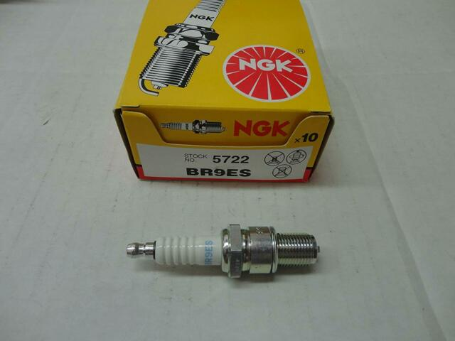 NGK Spark Plugs USA Solid 4Pack 3194 Spark Plugs Br9Es