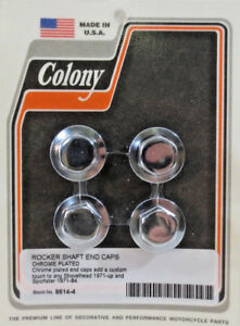 Colony Hex Rocker Shaft End Plugs 8614-4