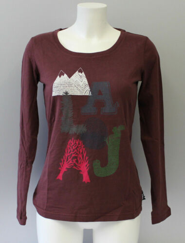 Maloja VulperaM root gr.S 20409 OCCASION Shirt Tshirt Damen Longsleeve col