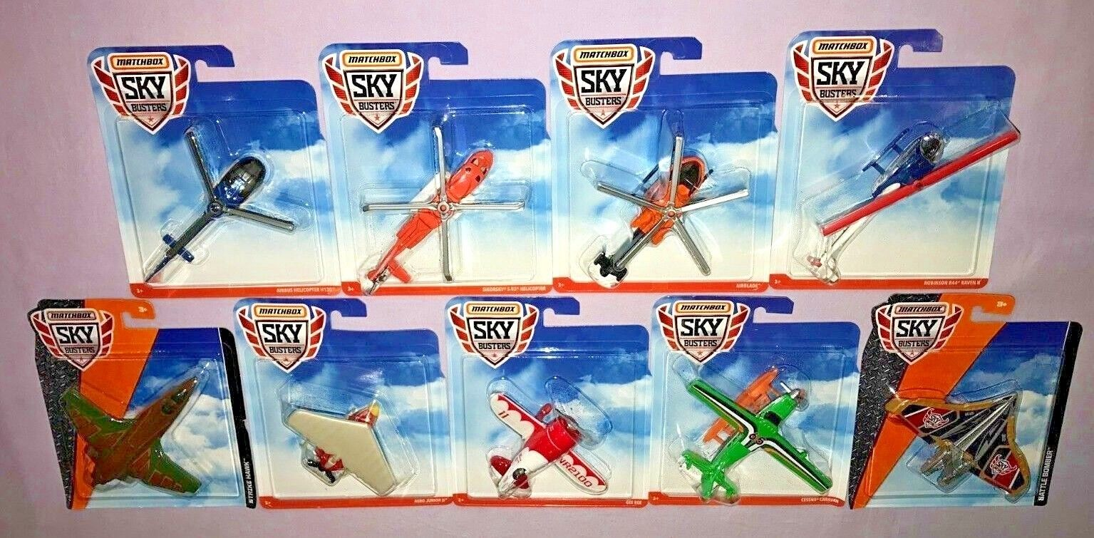 MATCHBOX SKYBUSTERS big lot de 9  Nouveau