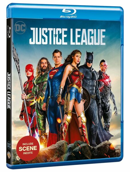 2019 Mode Justice League (blu-ray) Gal Gadot, Robin Wright, Amy Adams, Ben Affleck Mooie Glans