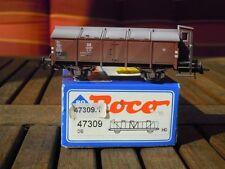 Roco 47309 Ladegüter Bauer professionell gealterter Klappdeckelwagen K25 DB Ep.3