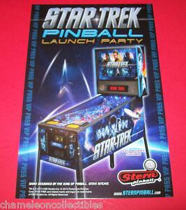 STAR-TREK-PINBALL-LAUNCH-PARTY-By-STERN-2013-ORIGINAL-PINBALL-MACHINE-EXPO-CARD