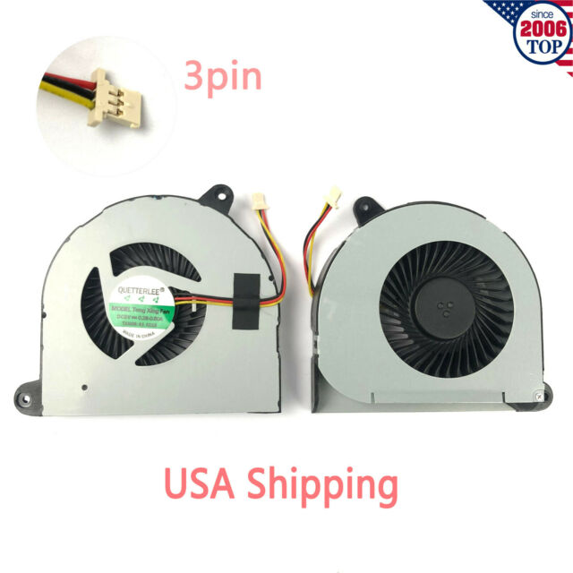 New Laptop CPU Cooling Fan Compatible with Dell Inspiron 17R 5720 N5720 7720 3760 D0D6C 0D0D6C