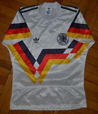 GERMANY 1990 WORLD CUP HOME FOOTBALL SHIRT JERSEY MAGLIA TRIKOT ADIDAS VINTAGE