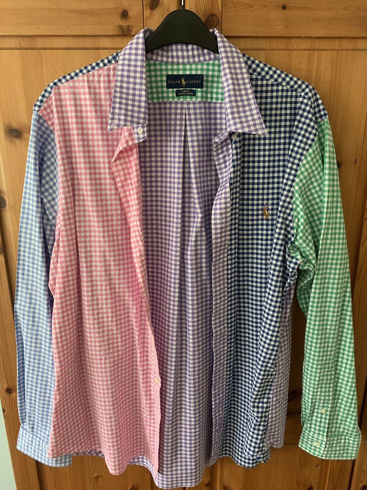 Ralph Lauren, Short Sleeve Shirt, XXL (2XL)