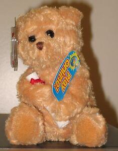 Ty Beanie Baby ~ SCHOLARS the Graduation Bear (No Hat Version)(7 Inch) MWMT