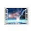 3D-Weltraum-Weltall-Fenster-Wandsticker-Wandtattoo-Wandaufkleber-Aufkleber Indexbild 1