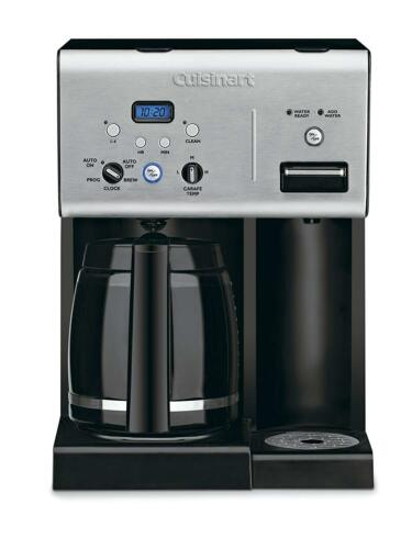 Cuisinart CHW-12 Coffee Plus 12-Cup Programmable Coffeemaker w// Hot Water System