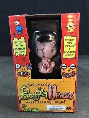 Boogily têtes de série 2 Gus Fink Kitix NEUF dans emballage d/'origine