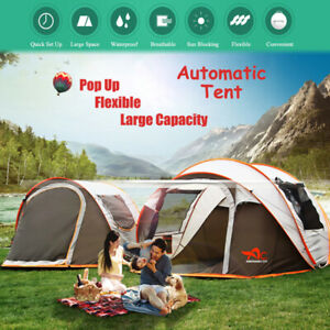 5-8-People-Large-Automatic-Camping-Tent-Windproof-Waterproof-Family-Quick-Open