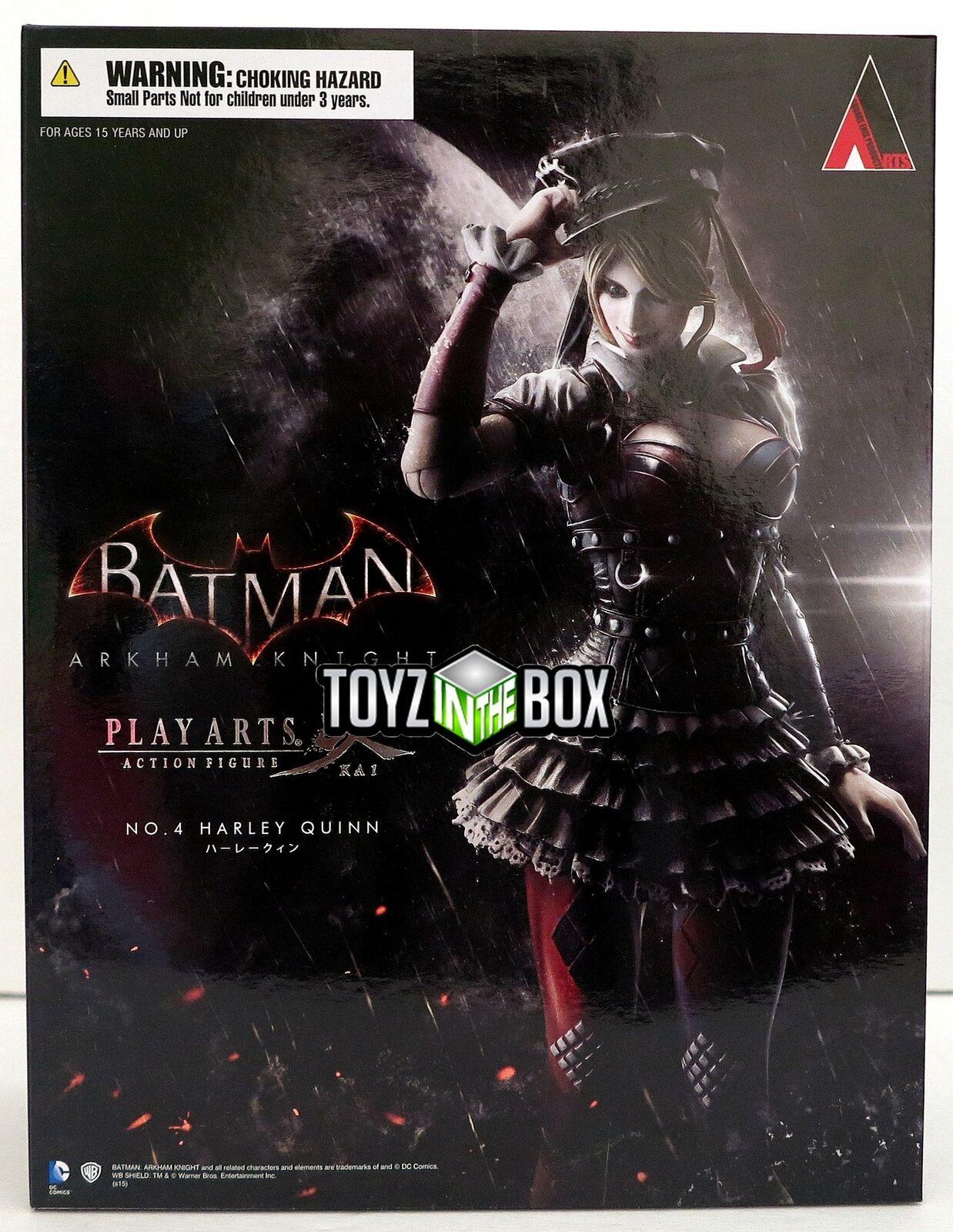In STOCK Batman Arkham Knight  Harley Quinn  DC Play Arts Kai Action Figure