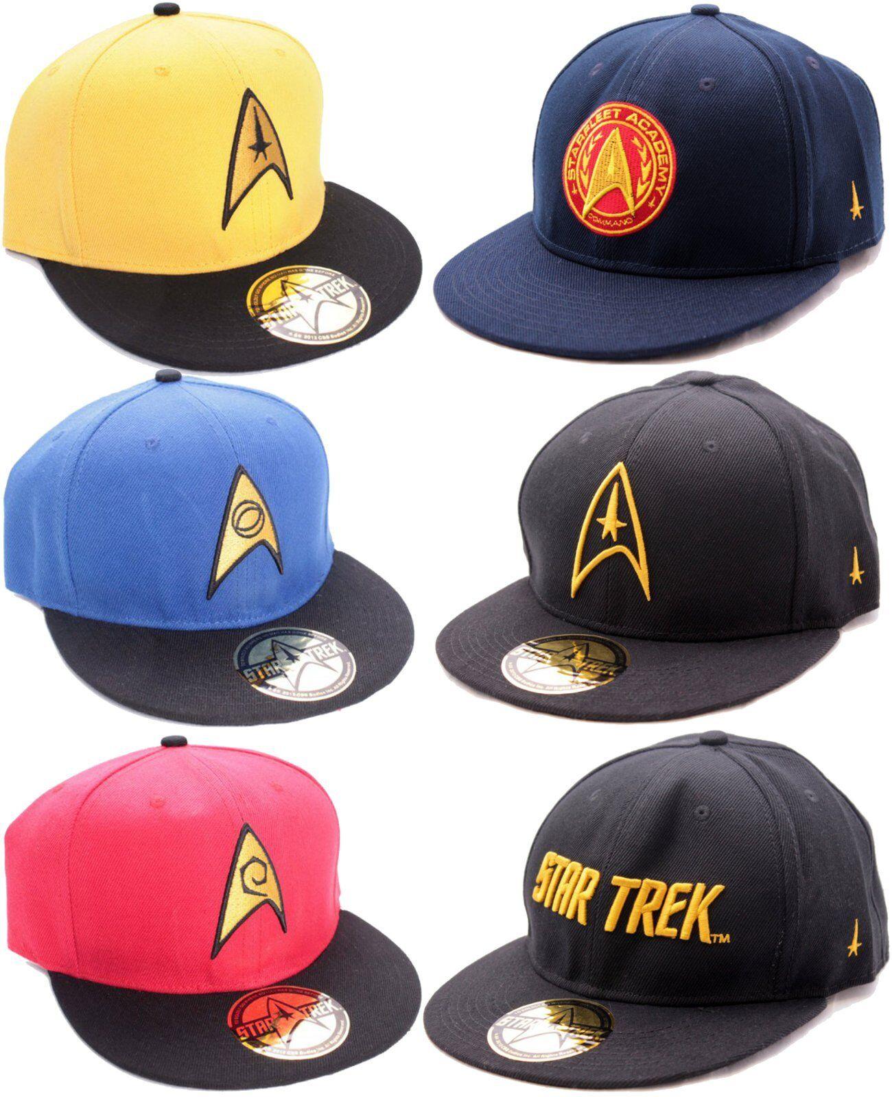 Star Trek Original Scotty Kirk Spock Crew Baseball Cap Kappe Mütze Hut Snapback