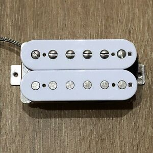 Seymour-Duncan-SH-1N-59-Neck-Humbucker-PAF-Les-Paul-Pickup-White-2-Conductor