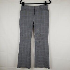 EXPRESS-DESIGN-STUDIO-EDITOR-Career-Dress-Plaid-PANTS-Women-s-Size-2-Pockets