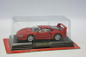 Ixo-Carrera-1-43-Ferrari-F40-Rojo