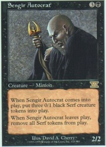 *CCGHouse* Magic Sengir Autocrat X4 MTG 6th Edition NM