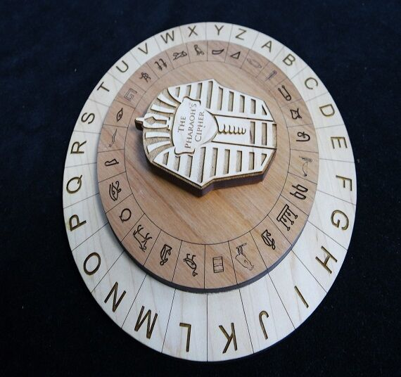 THE PHARAOH'S CIPHER - ESCAPE ROOM PUZZLE AND AND AND PROP b52ab9
