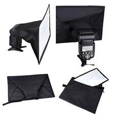 Universal 30x20cm Flash Softbox Diffuser for Canon 580EX 430EXII Nikon Speedlite