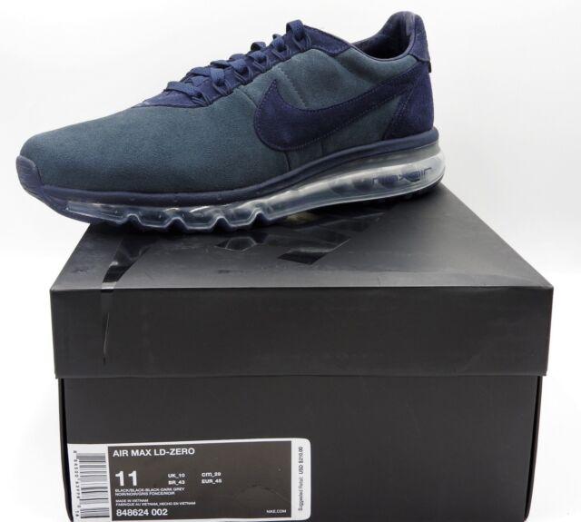 c20720a819 Nike Air Max LD Zero 848624-002 Black / Dark Grey Mens Sz 11.5 for ...
