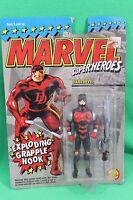 Marvel Super Heroes Daredevil Exploding Grapple Hook Figure 1994 On Card