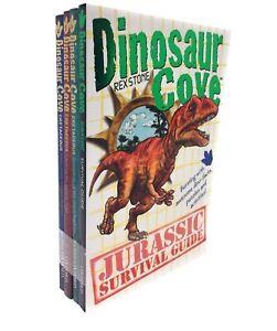 Dinosaur-Cove-Cretaceous-Collection-Rex-Stone-4-Books-Set-Children-Gift-Pack