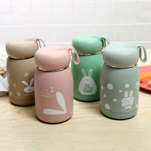 Mini-Belly-Mug-Small-Lovely-Rabbit-Kid-Stainless-Steel-Vacuum-Flasks-Thermos-Cup